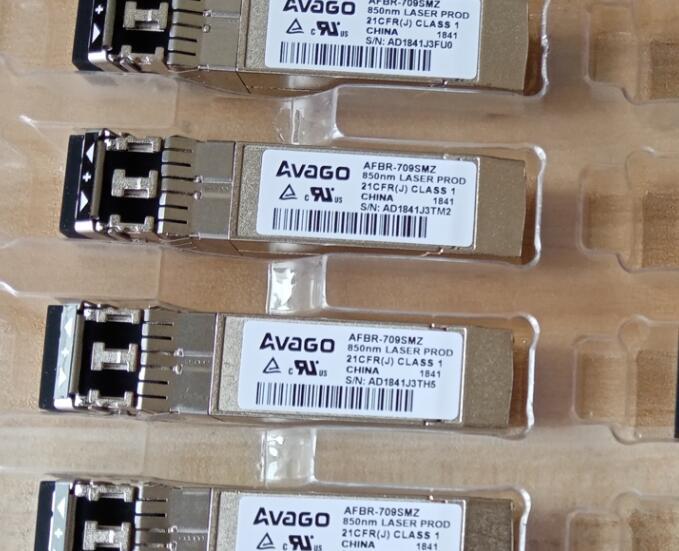 AFBR-709SMZ BROADCOM / AVAGO TRANSCEIVER 10GE SFP+ 850NM