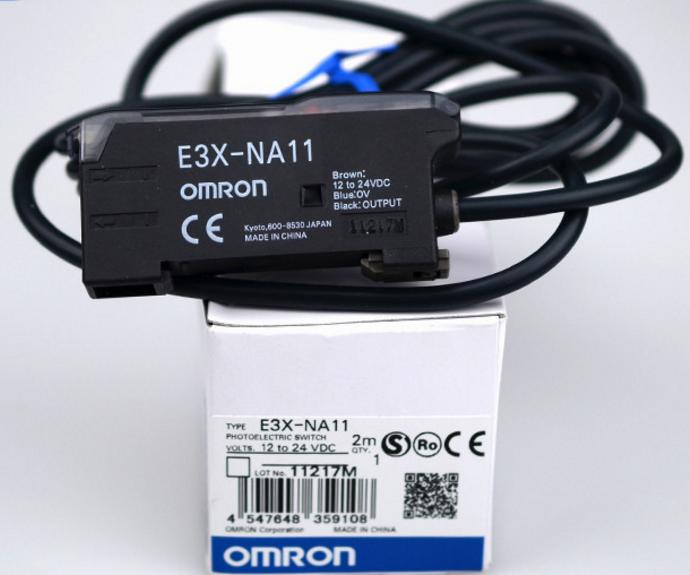 E3X-NA11 Omron E3XNA11 Z3270-ND  Z3270  E3X-NA11-ND  SENSOR PHOTOAMP FIBER 2M CBL