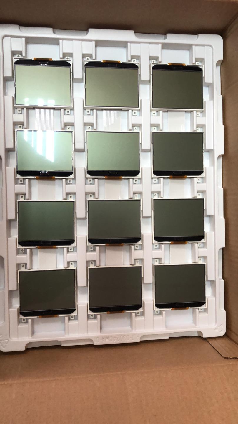 VP12864G-01,VP12864G-02,COG-VP12864 LCD display panel