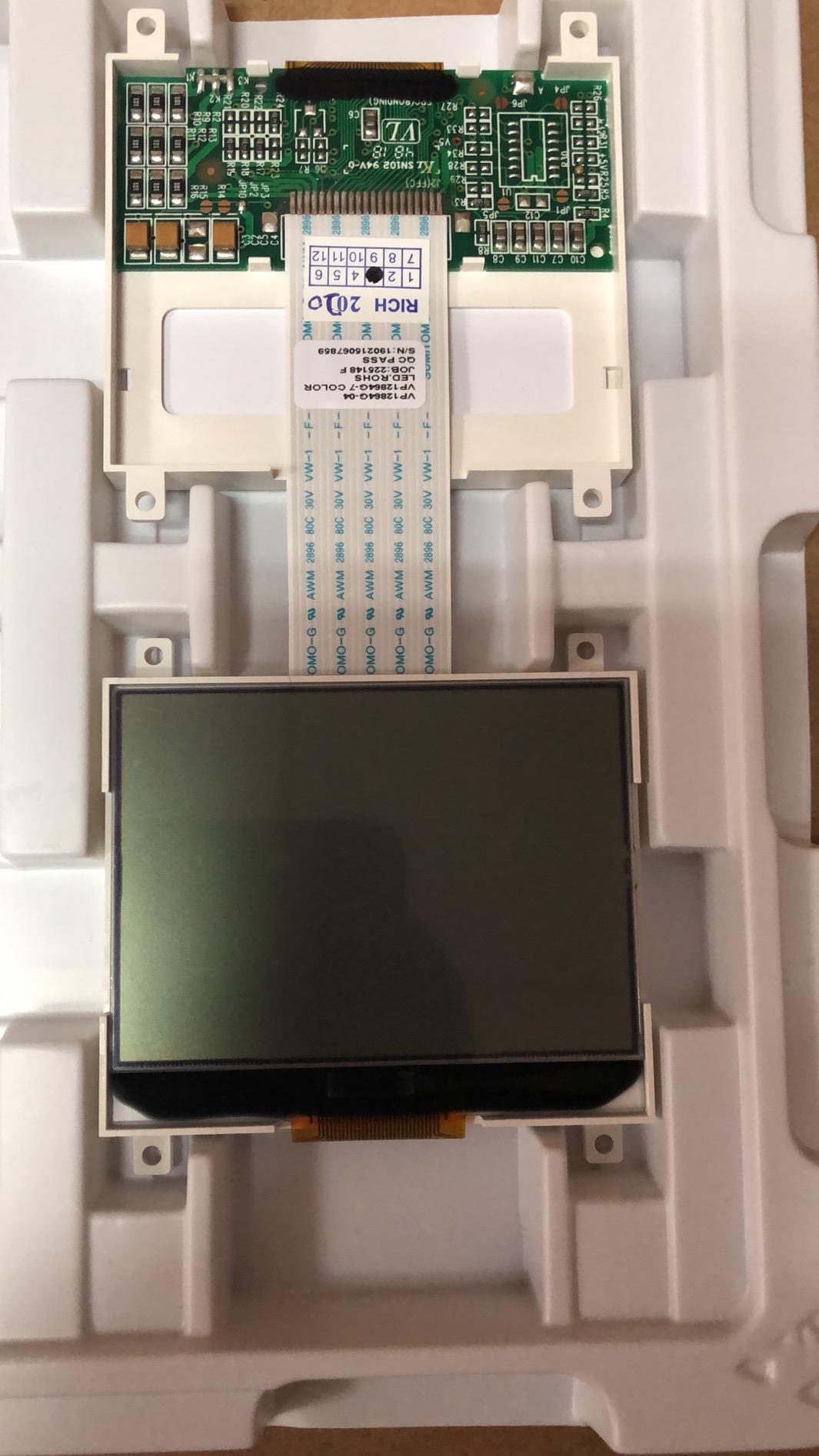 VP12864G-01 LCD display panel stock